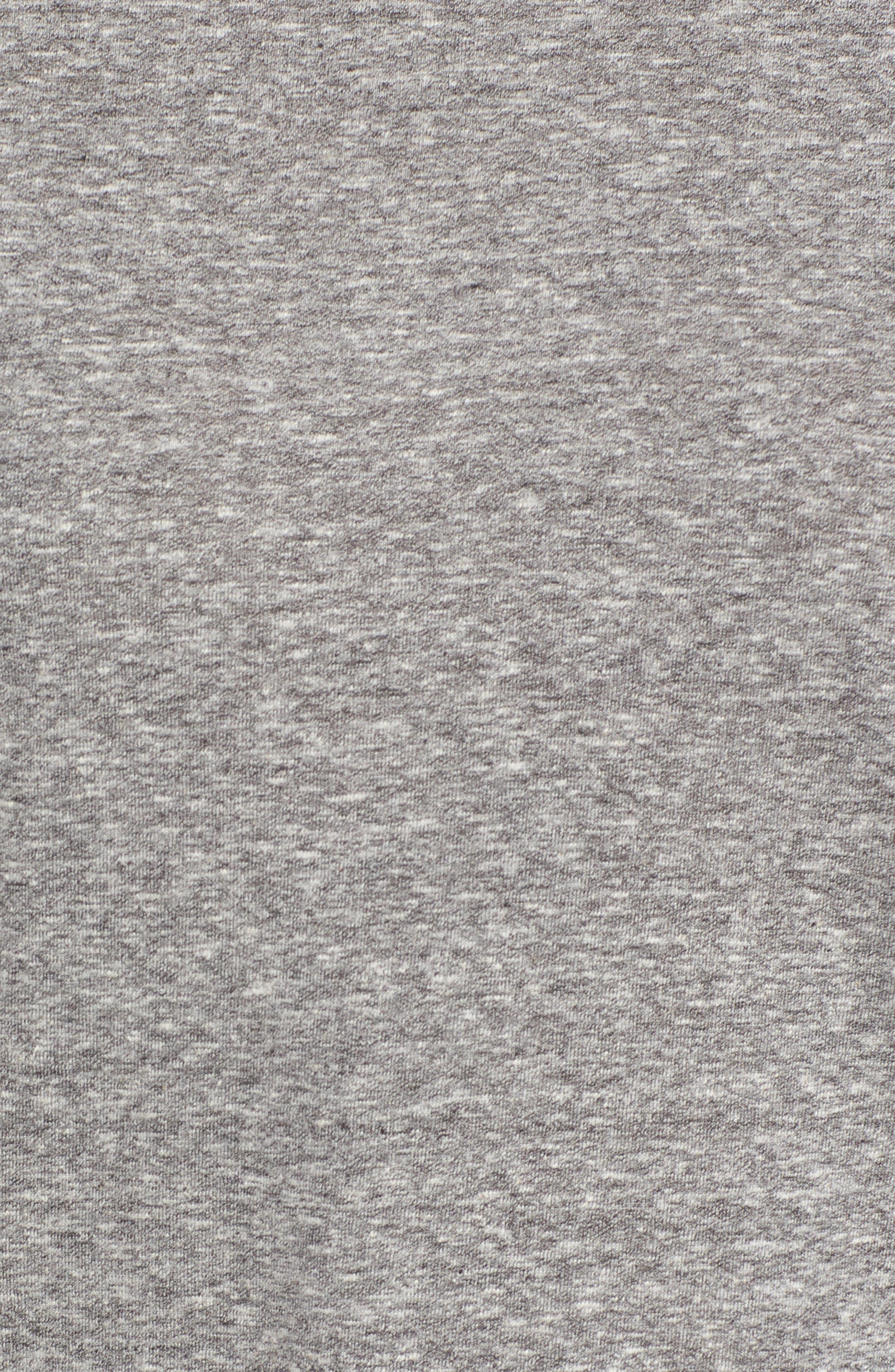 Short Sleeve Marl T-Shirt,                             Alternate thumbnail 6, color,                             Grey Marl