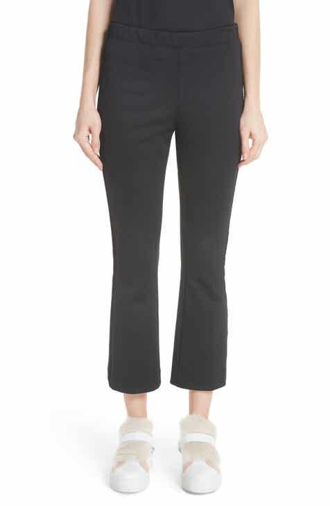0d86924db2d Moncler Velvet Trim Crop Pants