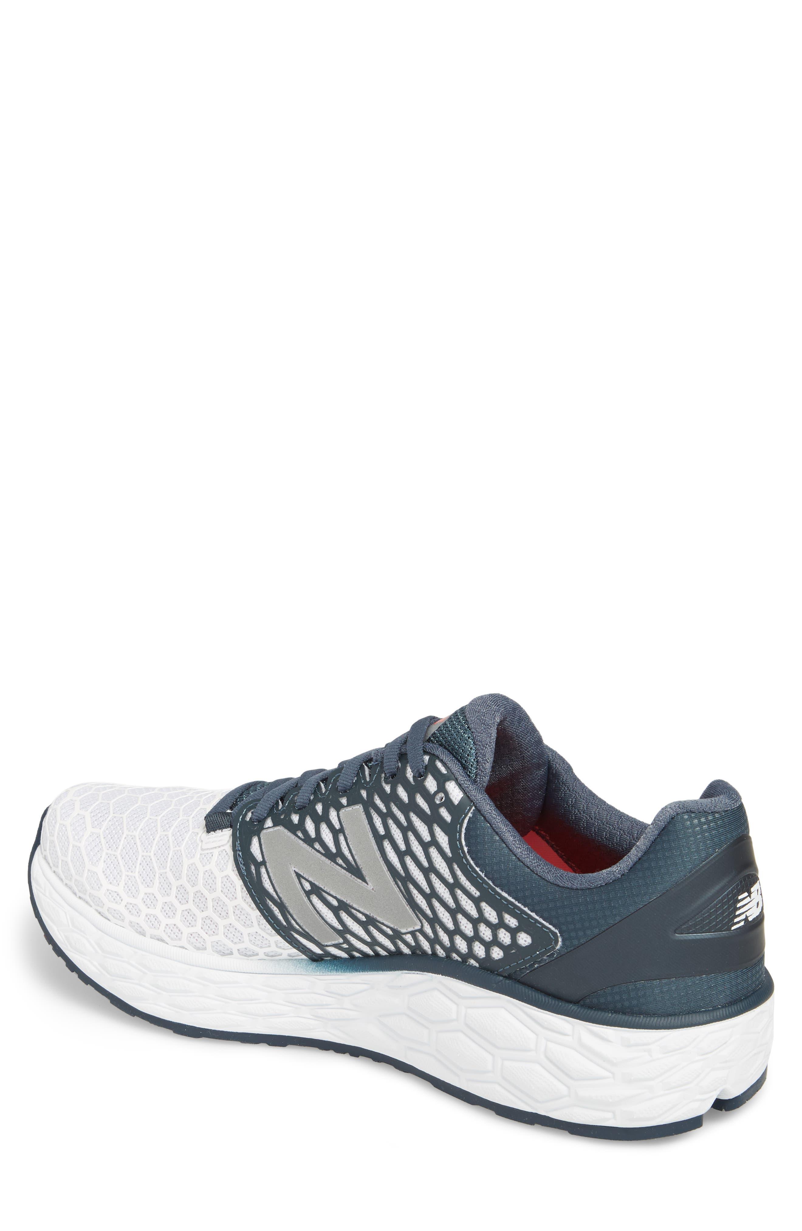 Fresh Foam Vongo v3 Running Shoe,                             Alternate thumbnail 2, color,                             White