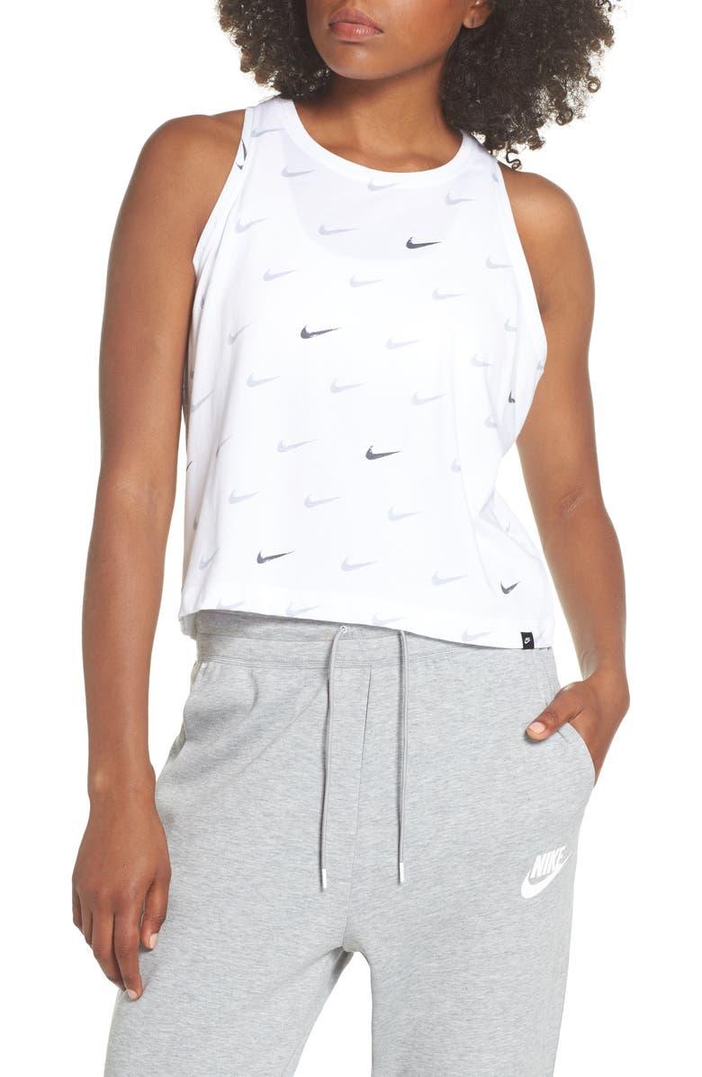 Sportswear Swoosh Crop Tank