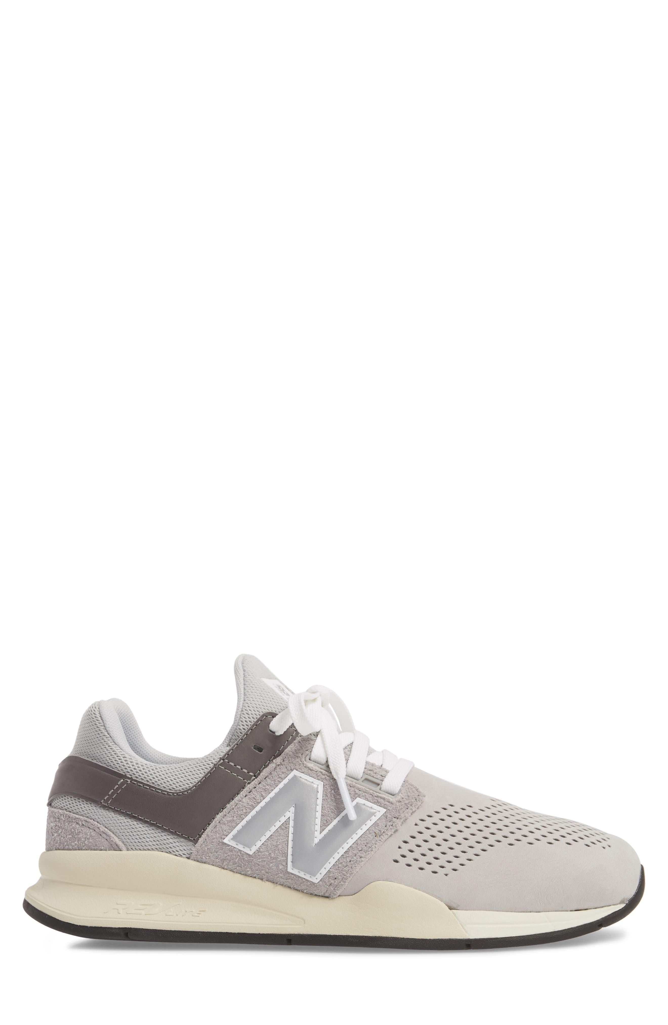 247 v2 Sneaker,                             Alternate thumbnail 6, color,                             Rain Cloud Leather