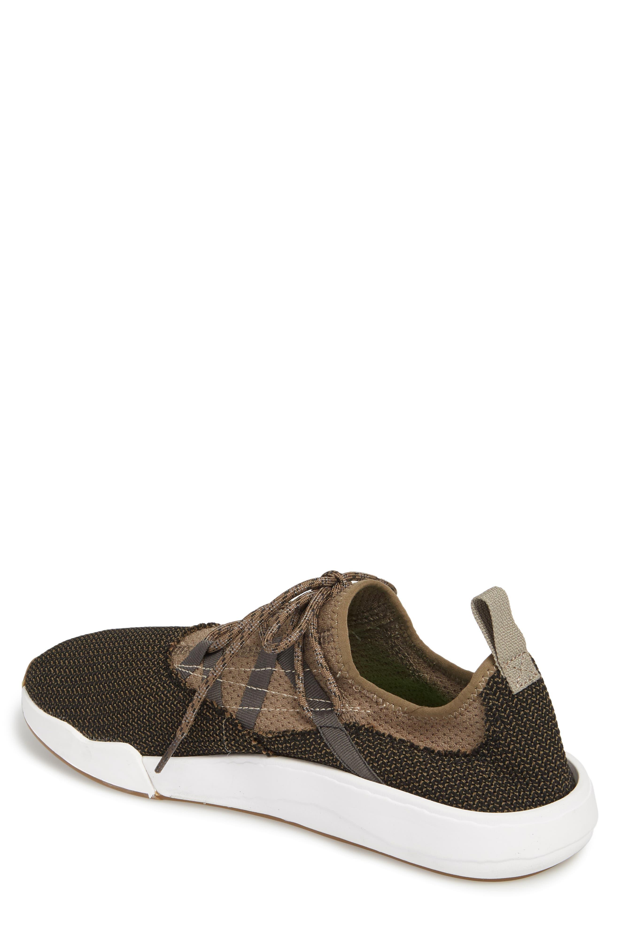 Chiba Quest Knit Sneaker,                             Alternate thumbnail 2, color,                             Brindle/ Black