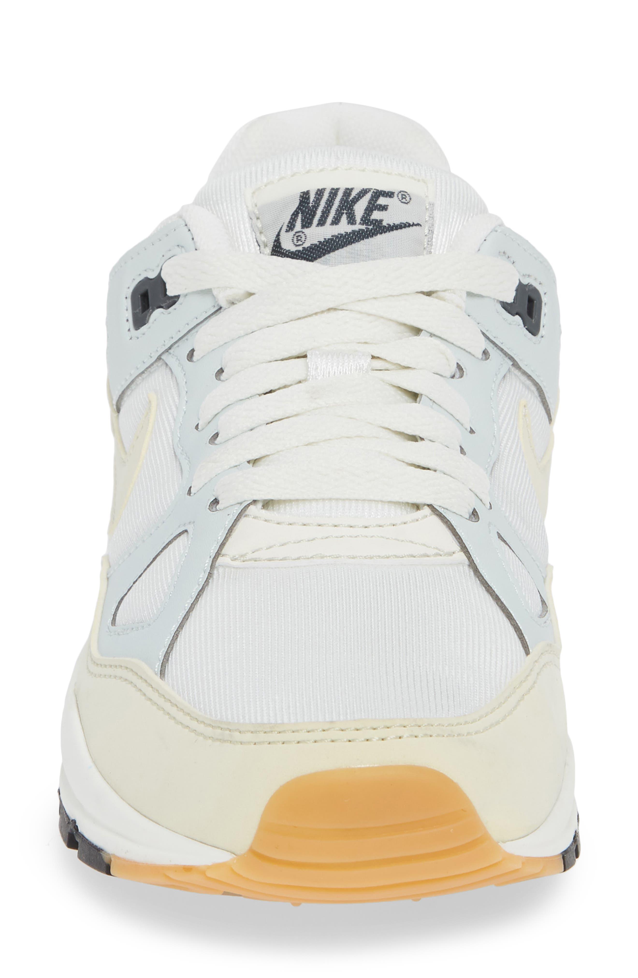 Air Span II Sneaker,                             Alternate thumbnail 4, color,                             Sail/ Fossil-Barely Grey-Black
