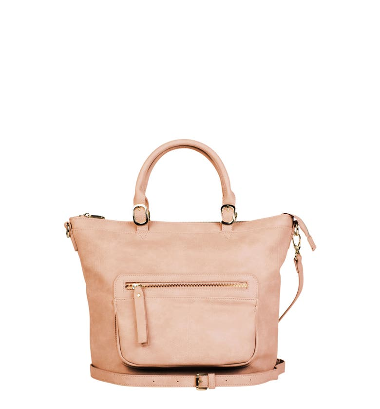 Urban Originals ILLUSION VEGAN LEATHER TOTE - PINK