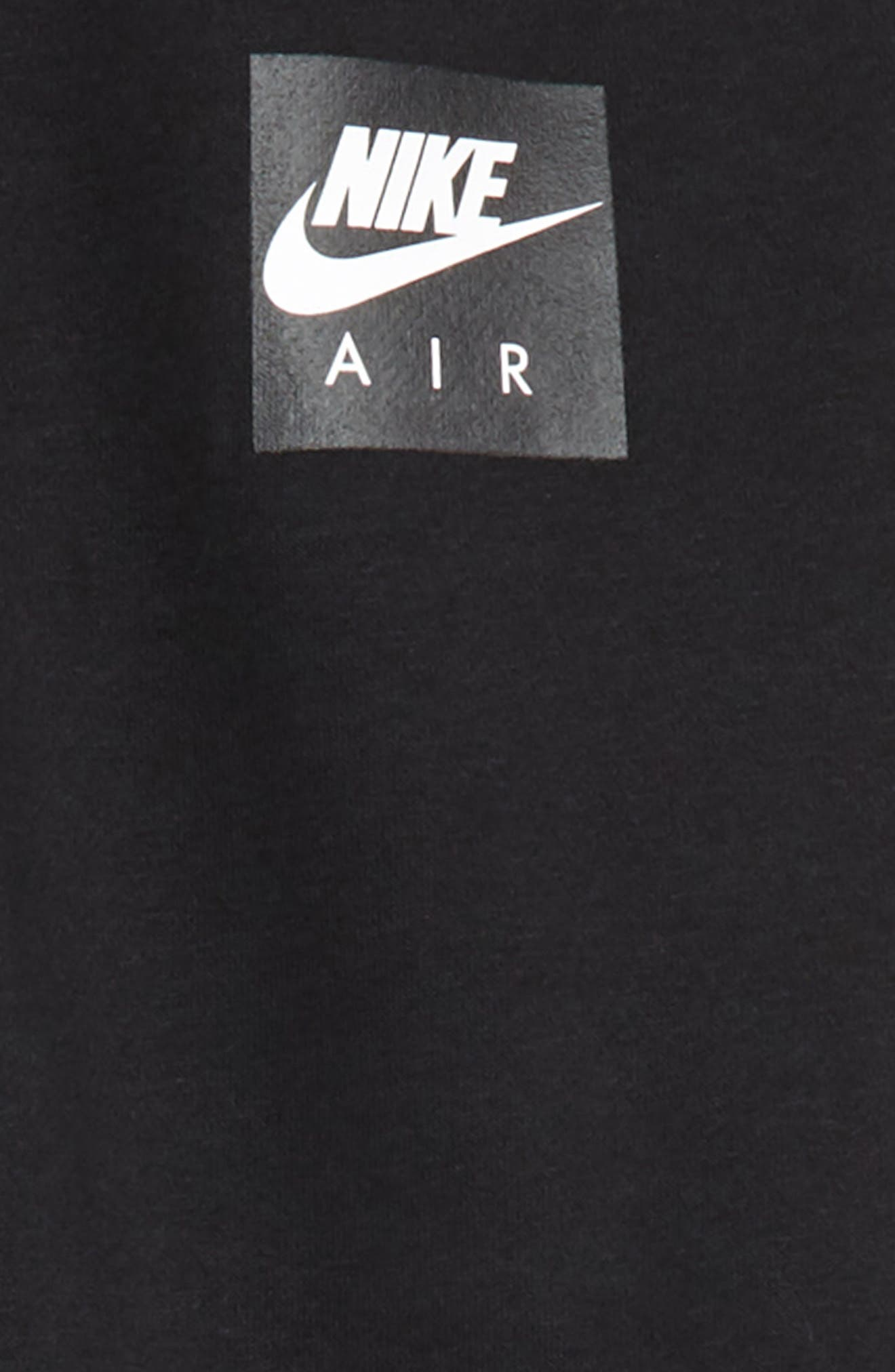Air Fleece Jogger Pants,                             Alternate thumbnail 2, color,                             Black