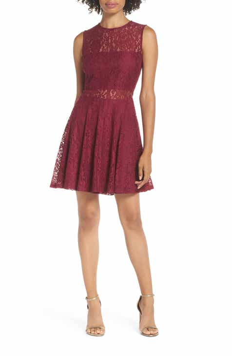 73d64e5cd4a Lulus Lace Skater Dress