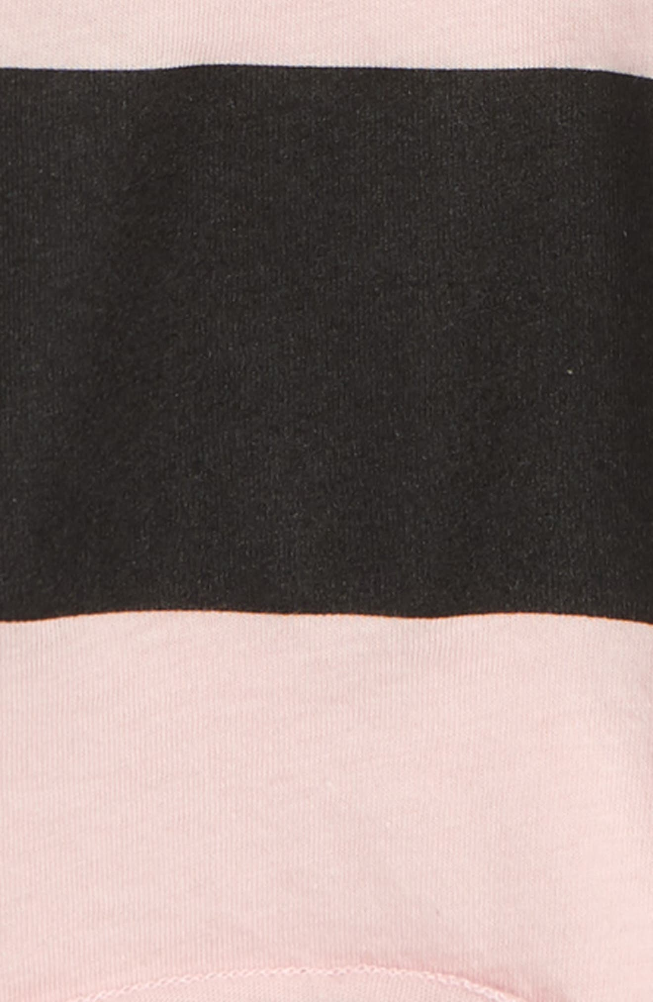 Stripe Tee,                             Alternate thumbnail 2, color,                             Powder Pink