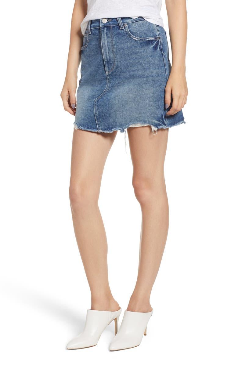 Georgia Denim Miniskirt