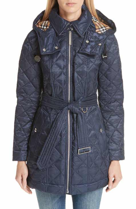 Burberry Womens Quilted Puffer Outerwear Coats Jackets Nordstrom