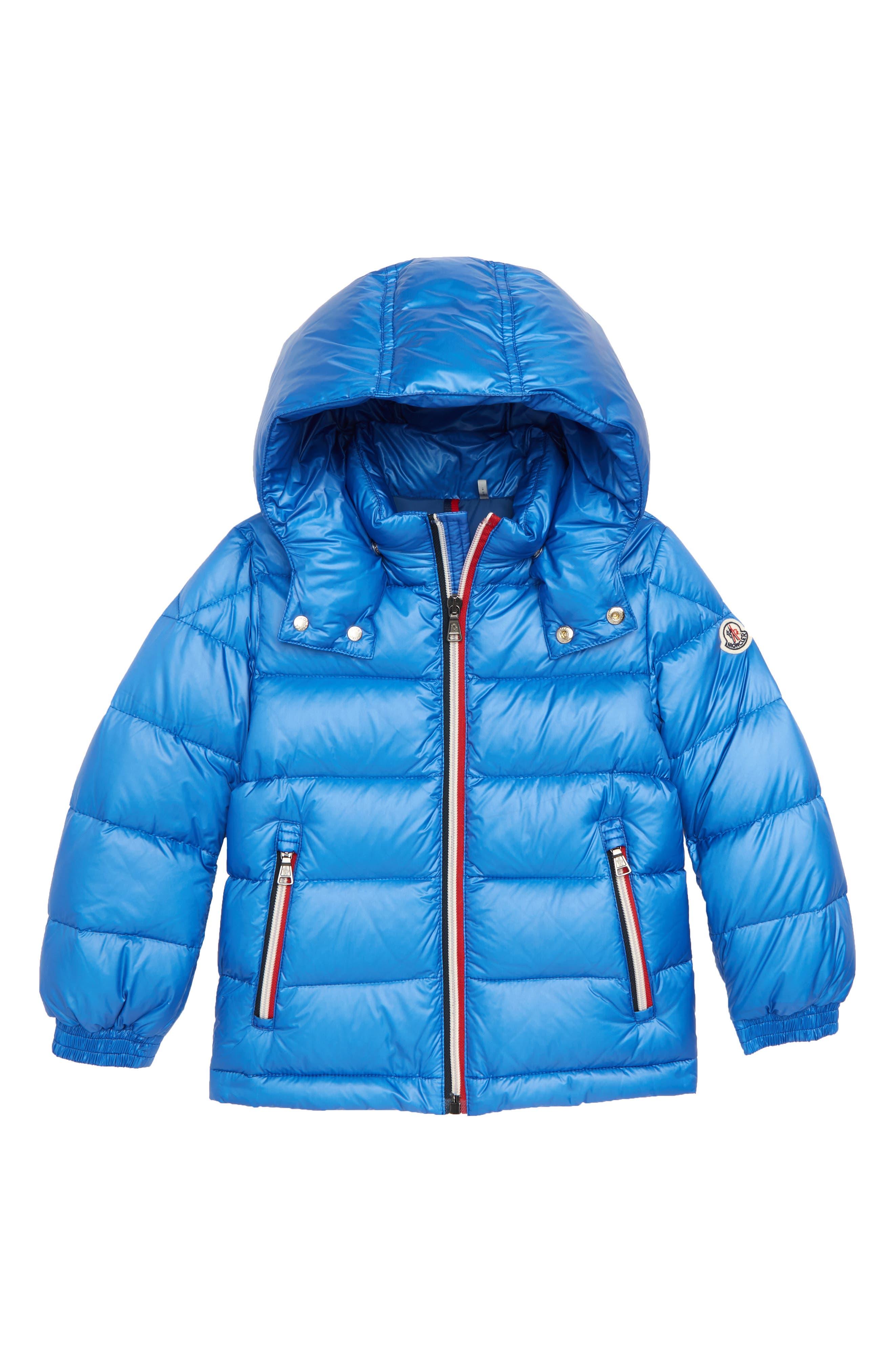 Moncler Gastonet Hooded Water Resistant Down Jacket (Little Boys & Big Boys)
