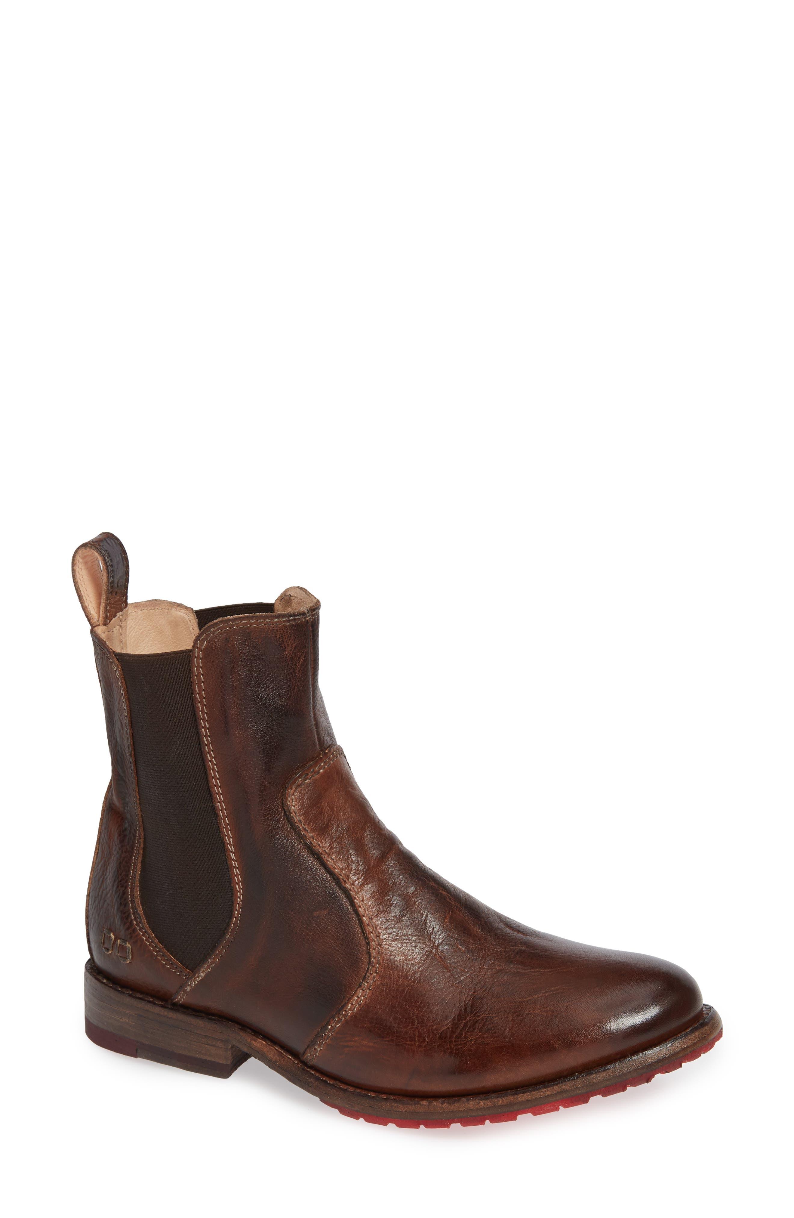 Nandi Chelsea Boot,                         Main,                         color, Teak Rustic