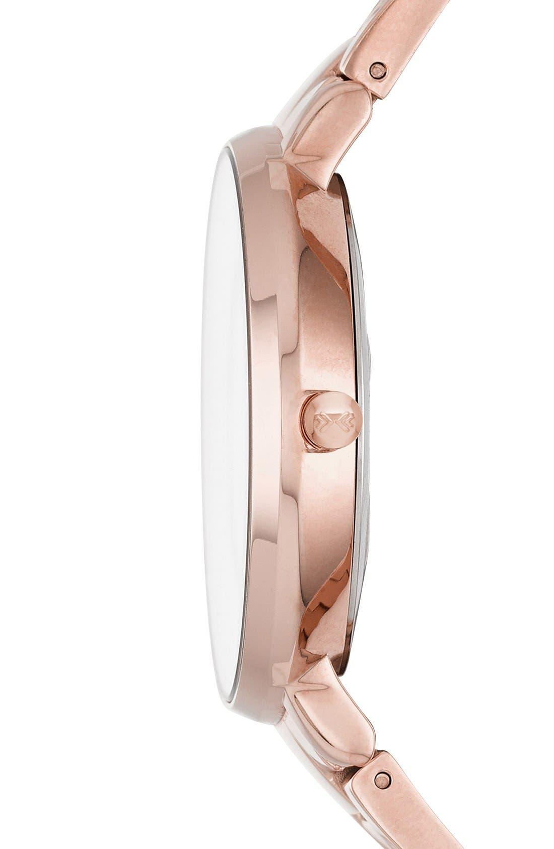 Alternate Image 2  - Skagen 'Ditte' Round Bracelet Watch, 37mm