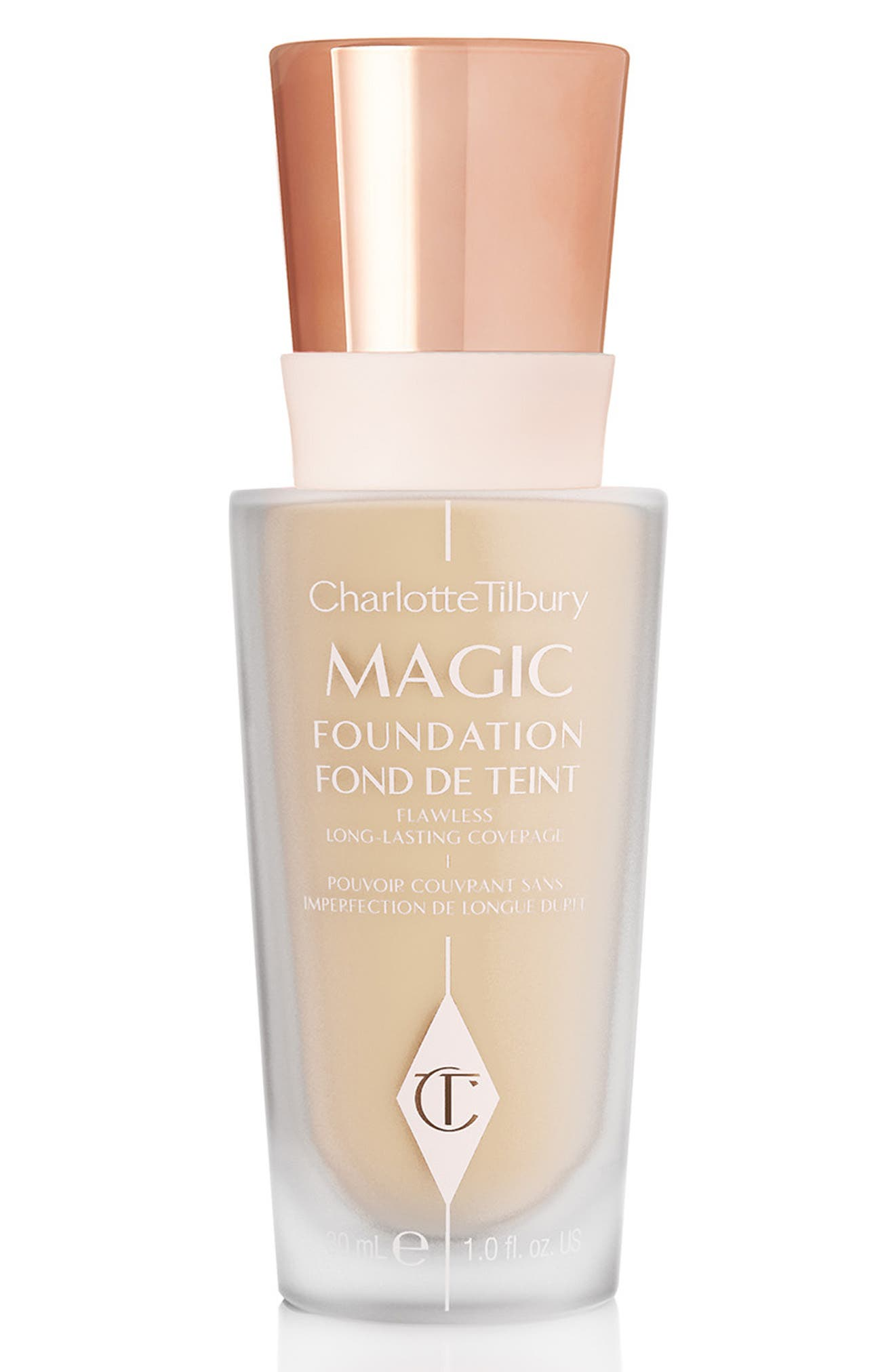 CHARLOTTE TILBURY MAGIC FOUNDATION BROAD SPECTRUM SPF 15 - 4.5 MEDIUM