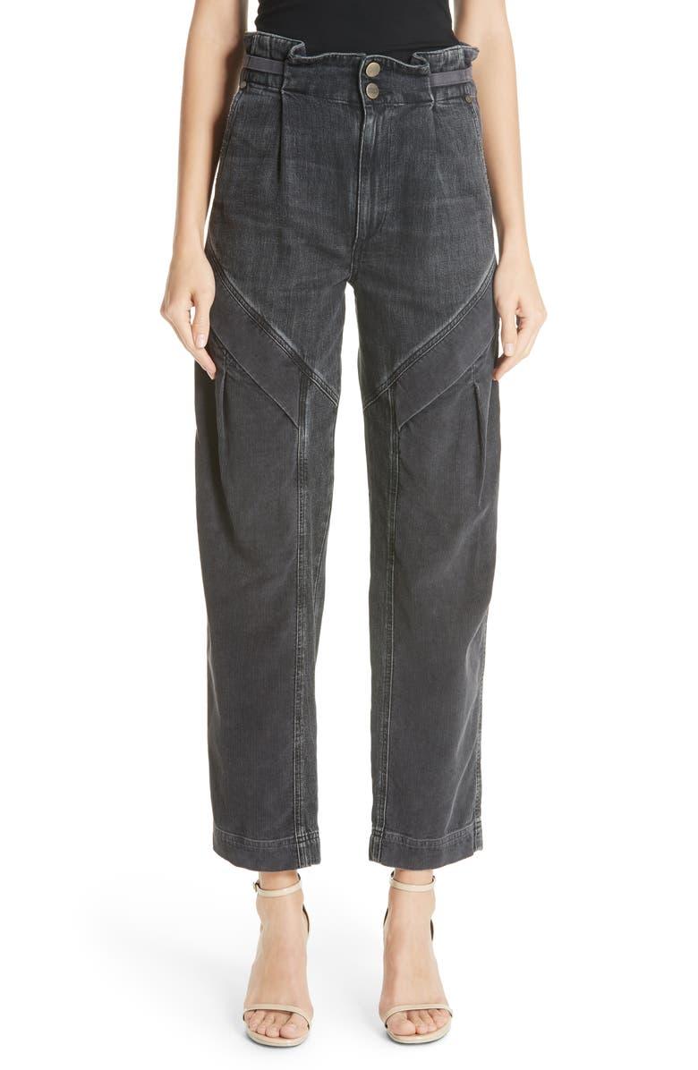 Gemma Cinch Waist Jeans