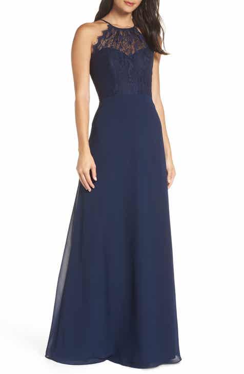 Halter Bridesmaid Dresses   Nordstrom