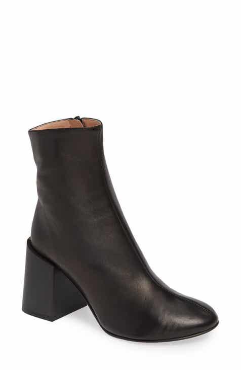 b7724a61bfd5b9 Acne Studios Block Heel Bootie (Women)