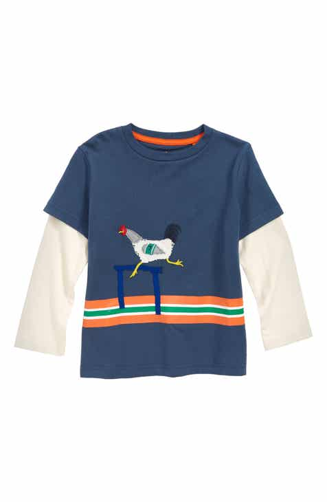 37cccb2571c6 Mini Boden Active Animals Layered T-Shirt (Toddler Boys