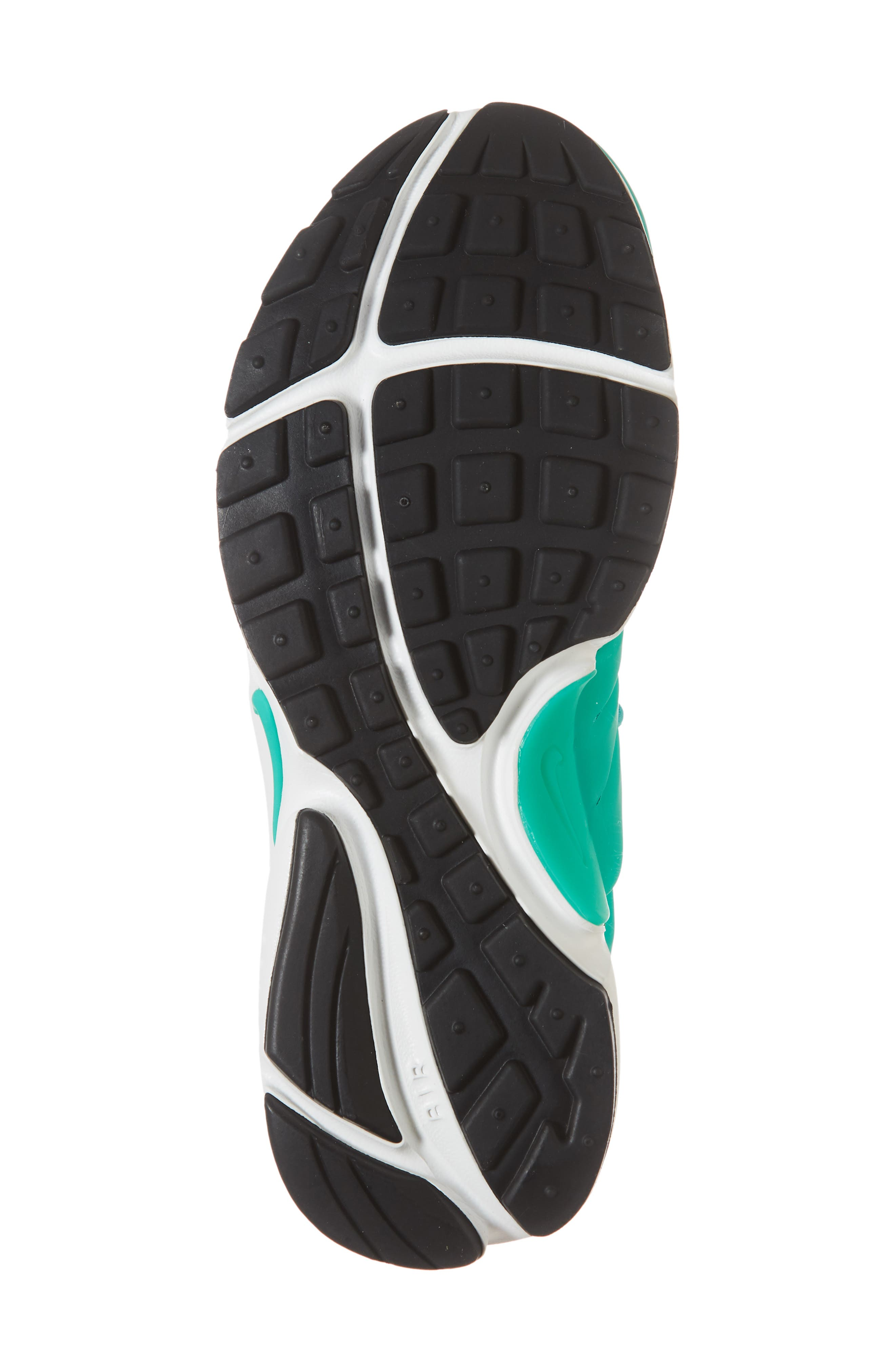 Air Presto Sneaker,                             Alternate thumbnail 6, color,                             Clear Emerald/ Summit White