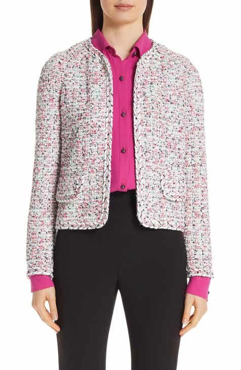 St. John Collection Modern Knit Jacket by ST. JOHN COLLECTION