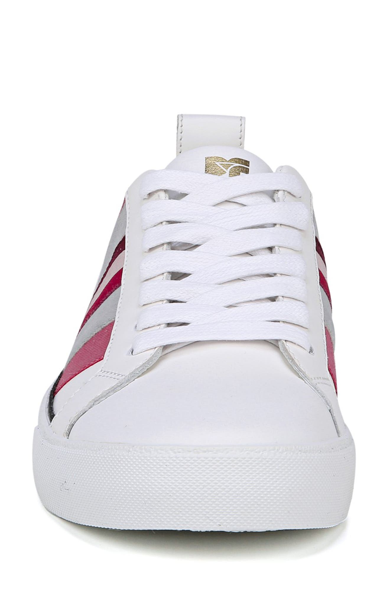 Tess Lace-Up Sneaker,                             Alternate thumbnail 5, color,                             Pink Multi