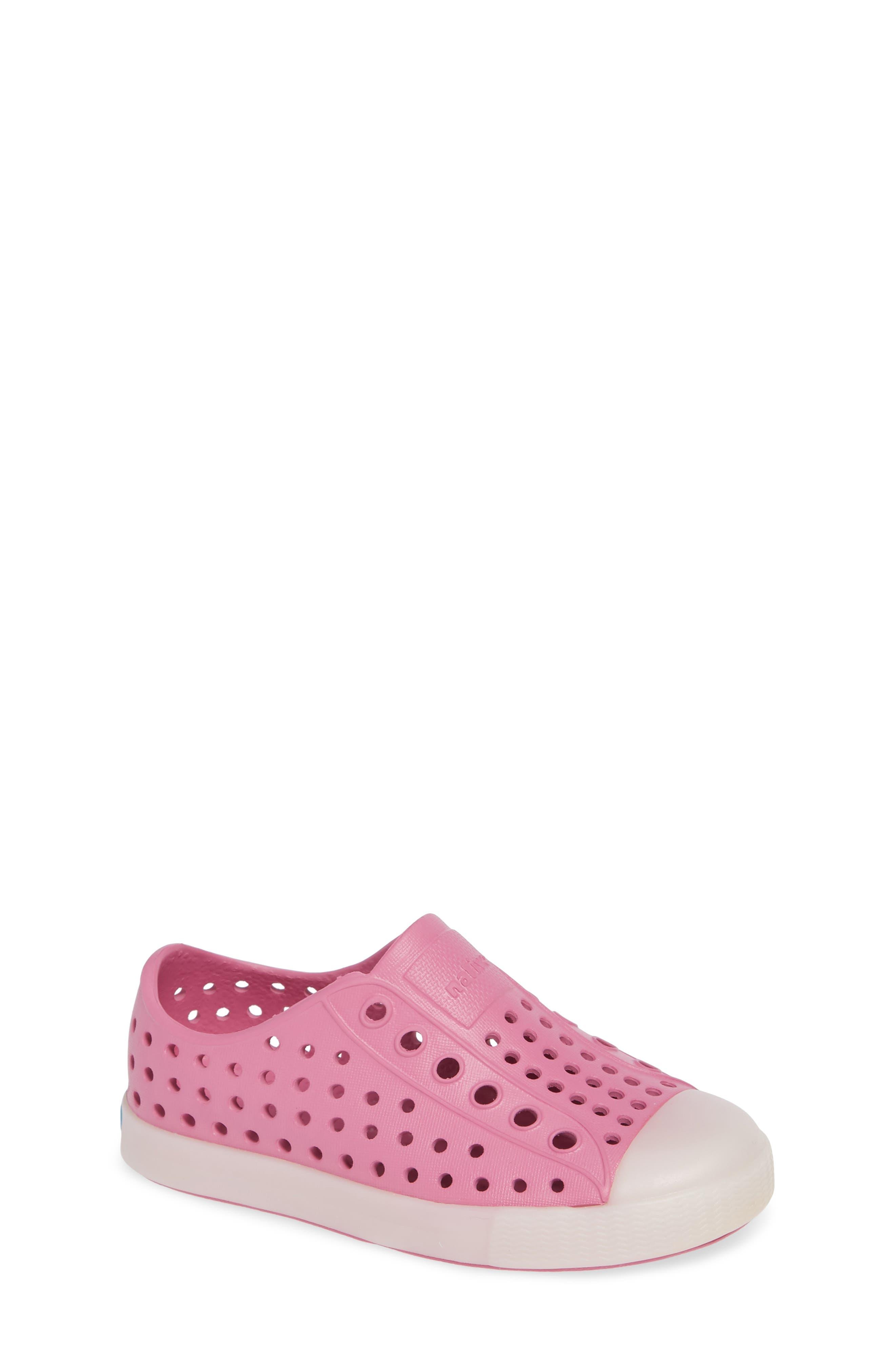 Jefferson - Glow in the Dark Sneaker,                         Main,                         color, Woodward Pink/ Glow