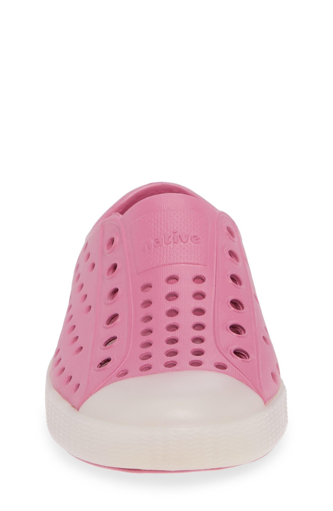 Jefferson - Glow in the Dark Sneaker,                             Alternate thumbnail 7, color,                             Woodward Pink/ Glow