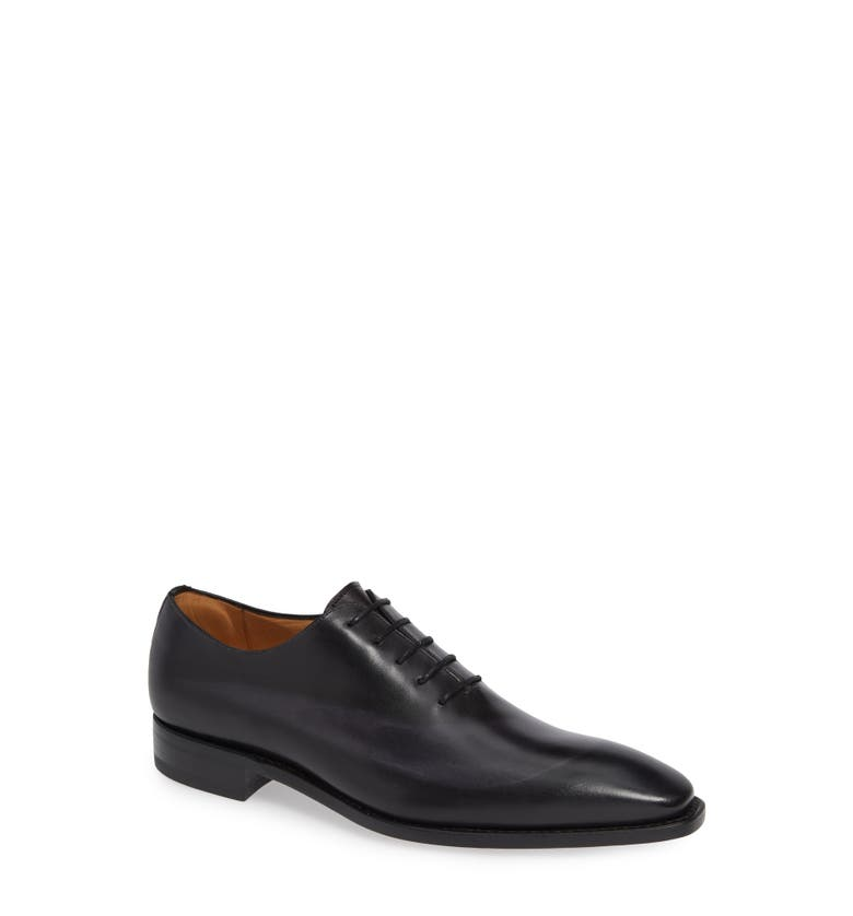 Cline Plain Toe Lace-Up Derby