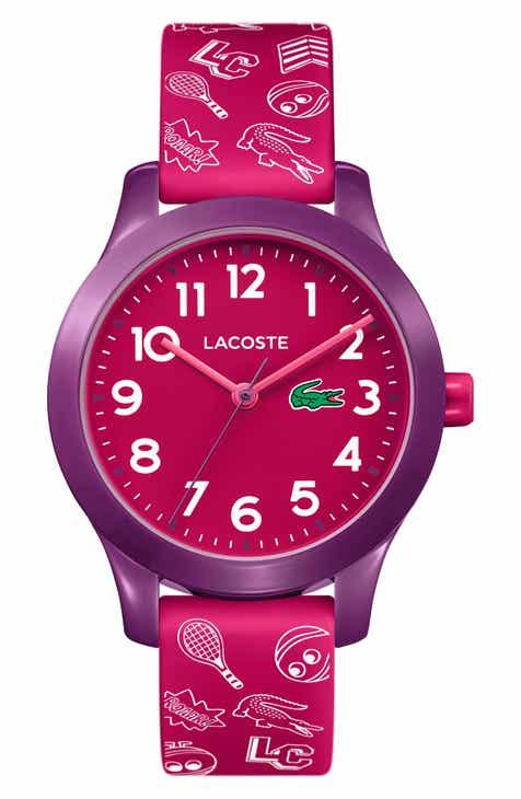 612cb61d42 Lacoste 12.12 Rubber Strap Watch, 32mm (Kids)