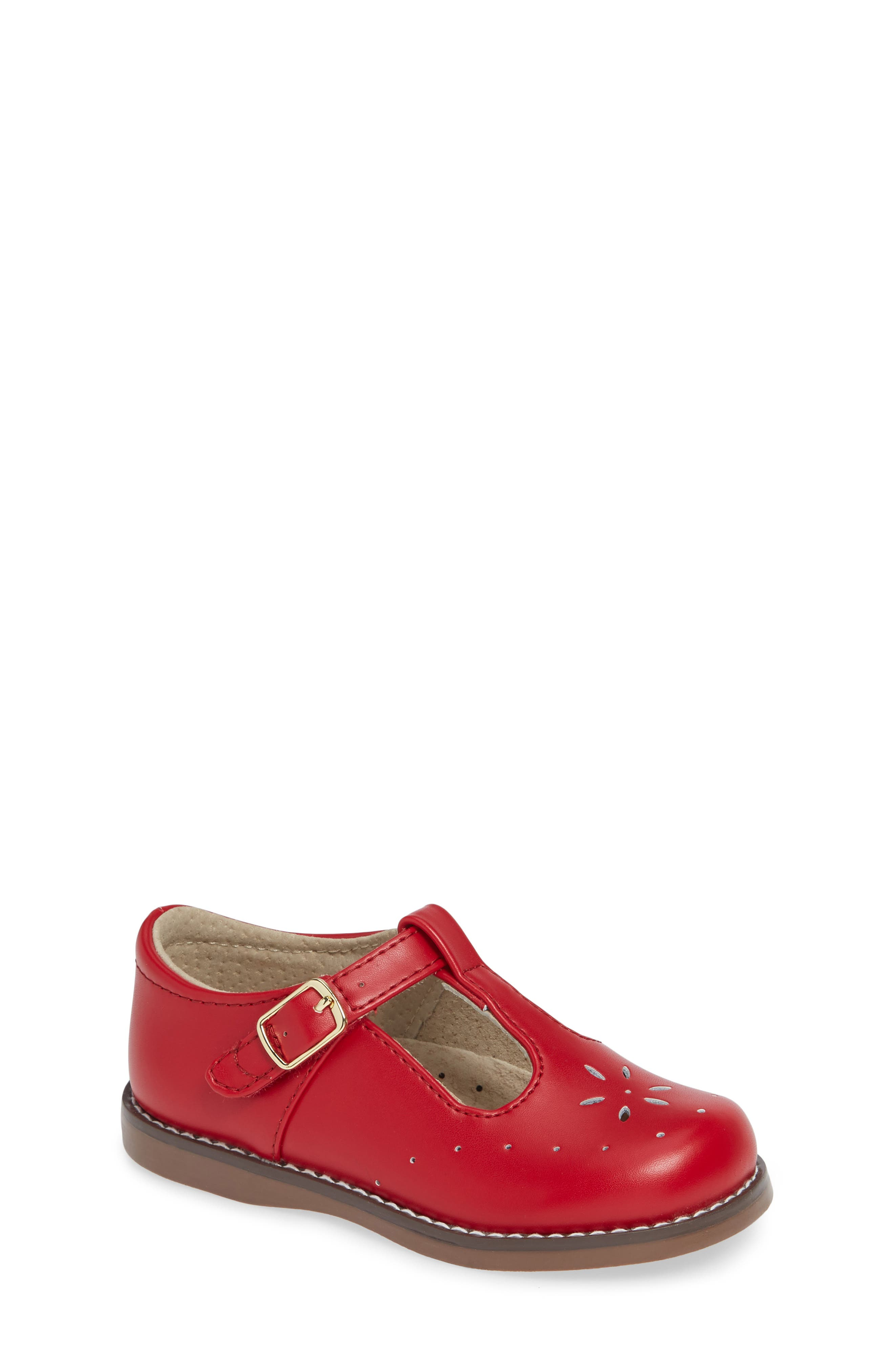 Toddler Girls' Red Shoes (Sizes 7.5-12)