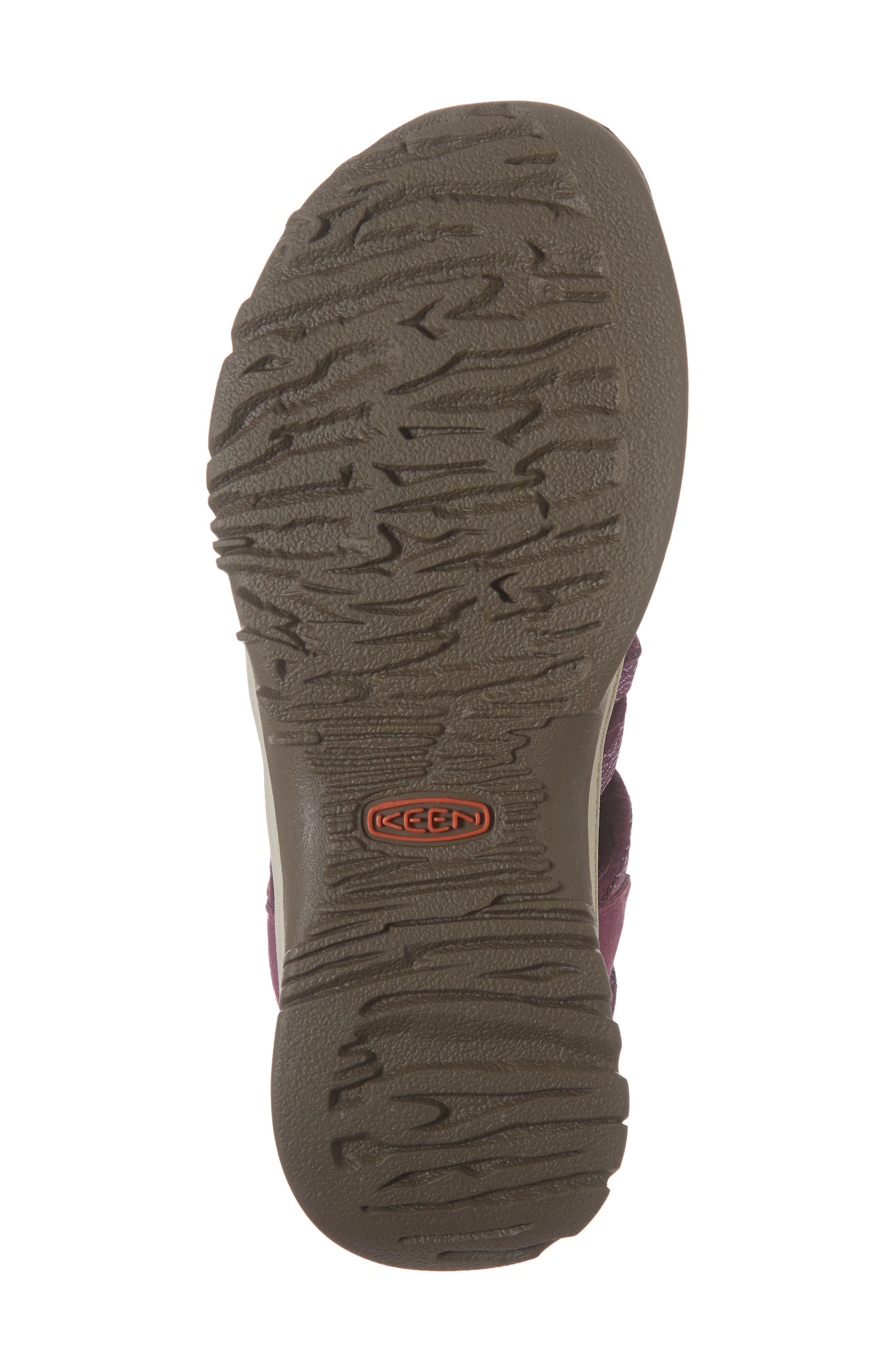 'Whisper' Water Friendly Sport Sandal,                             Alternate thumbnail 3, color,                             Grape Kiss/ Grape Wine