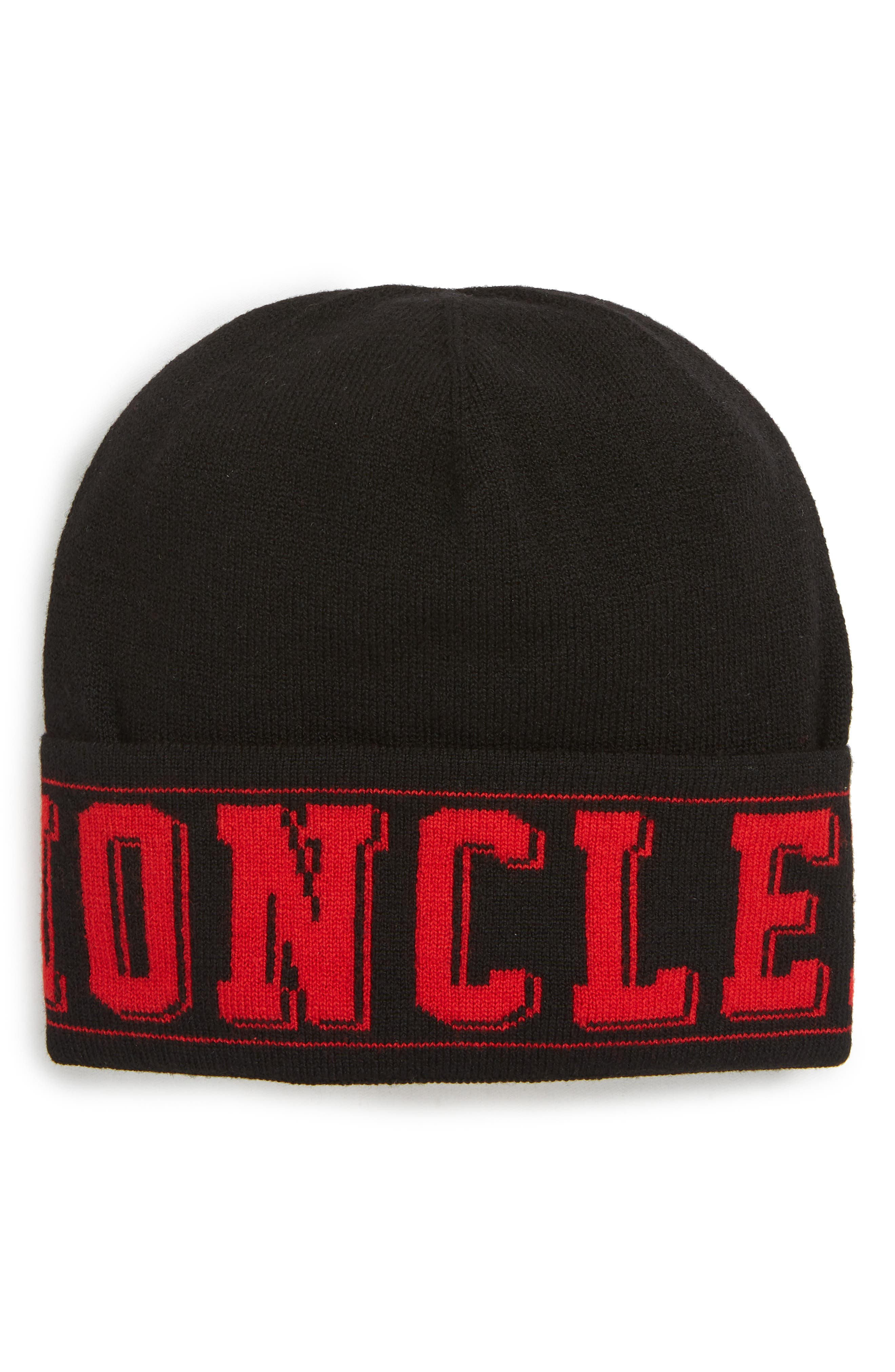 aa287d2a07c ... hats b9a9a 24a4c  wholesale moncler berretto logo wool beanie 7481d  f215e