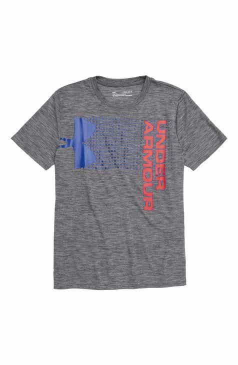 b210d8a702b17e Under Armour Crossfade HeatGear® Graphic T-Shirt (Big Boys)