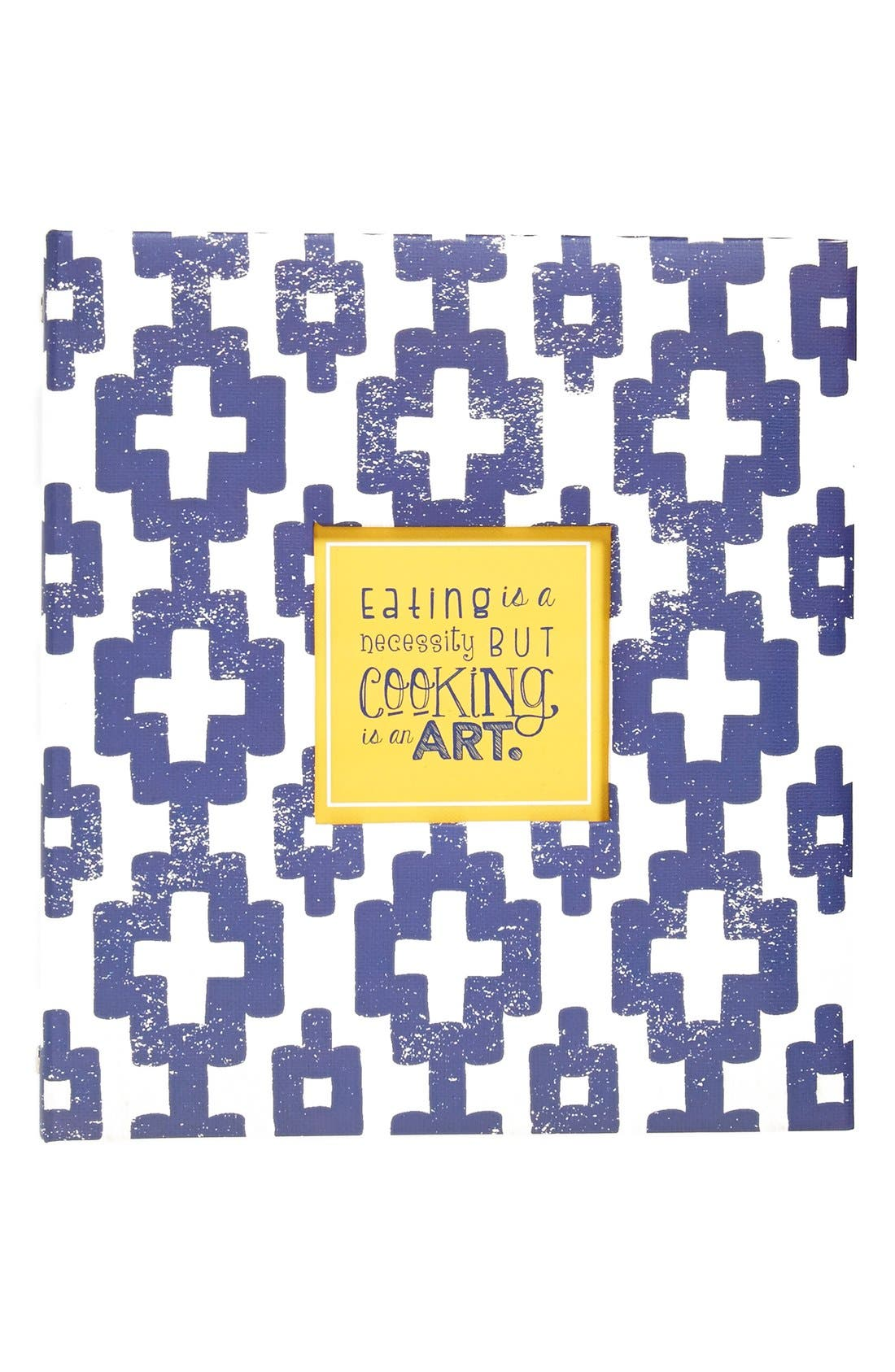 Alternate Image 1 Selected - C.R. Gibson 'Art of Cooking' Pocket Page Recipe Book