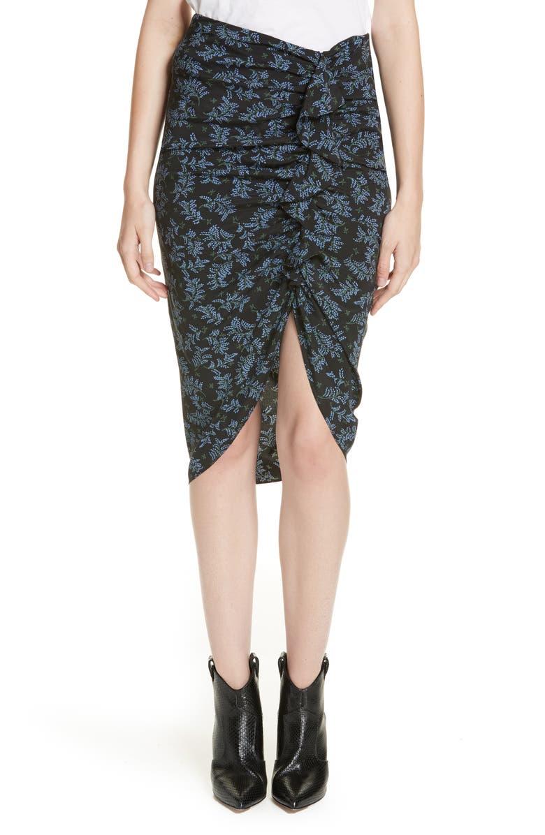 Hazel Silk Skirt