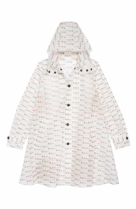 Girls White Coats Jackets Outerwear Rain Fleece Hood Nordstrom