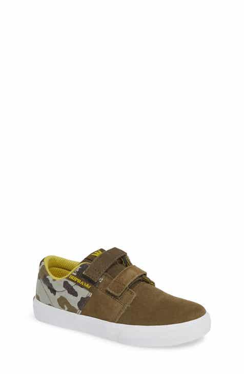 Supra Stacks Low Top Sneaker (Toddler ae441f1d51ee