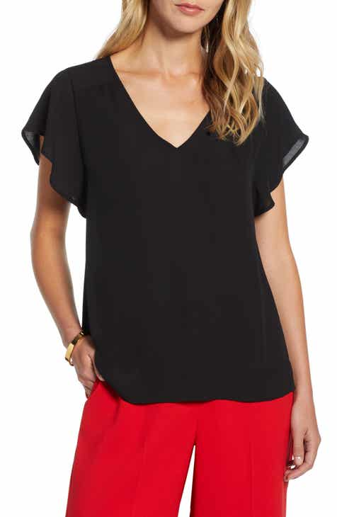 aa2c8bbae90 Halogen Women s Shirts   Blouses Clothing   Accessories
