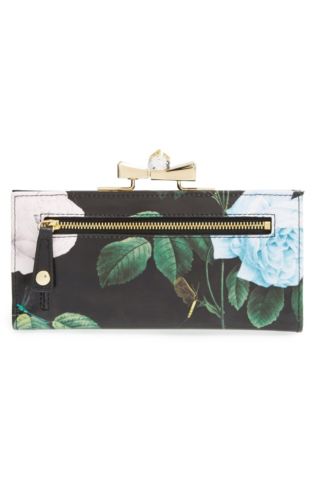 Alternate Image 3  - Ted Baker London Floral Bow Matinee Wallet