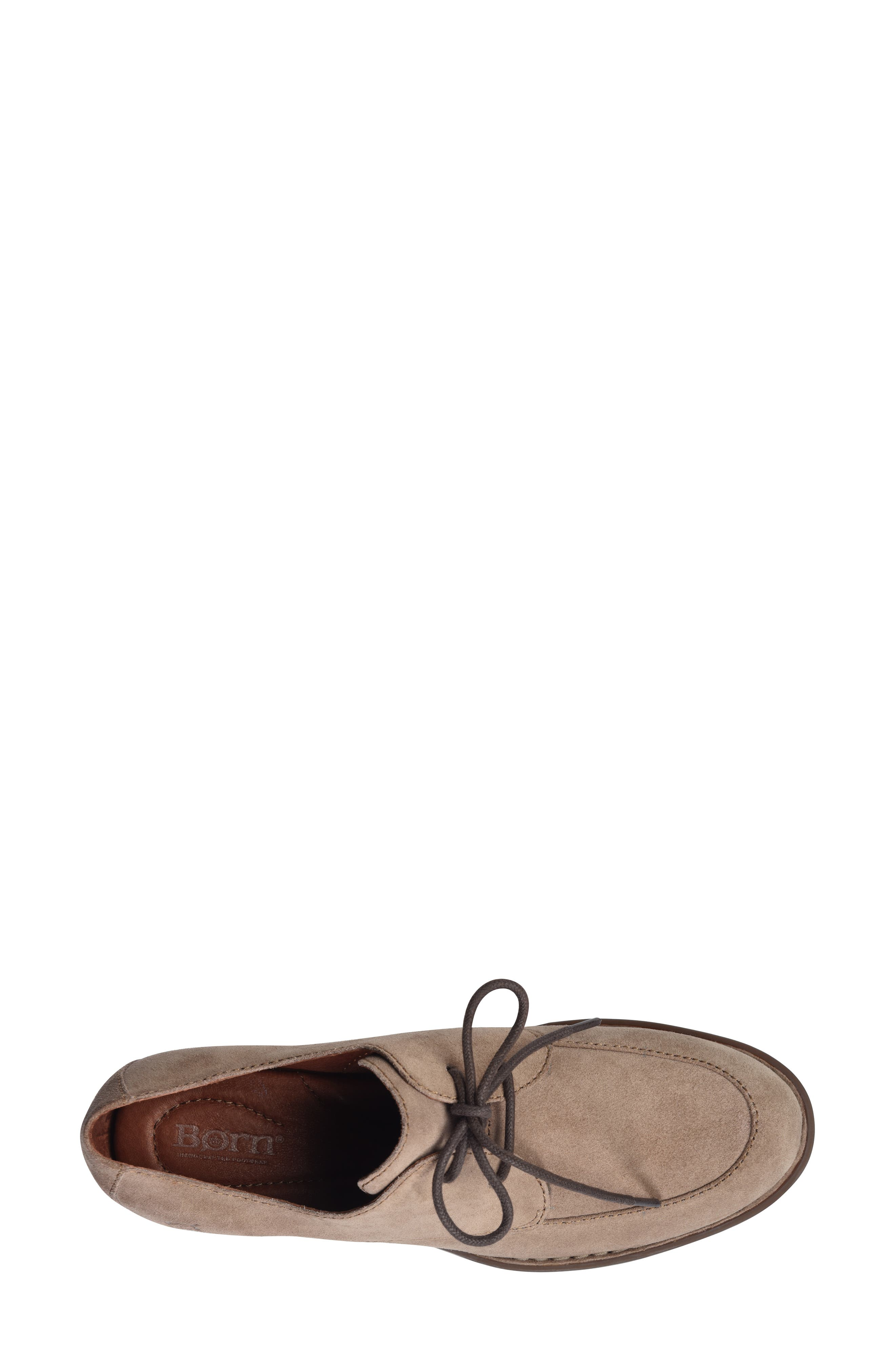 Rora Derby,                             Alternate thumbnail 5, color,                             Taupe Suede