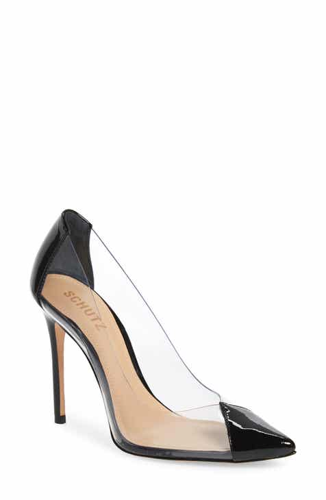 712d3dae28fe Schutz Cendi Transparent Pump (Women)