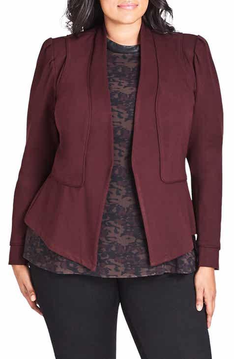 acb2e130e84 City Chic Piping Praise Jacket (Plus Size)