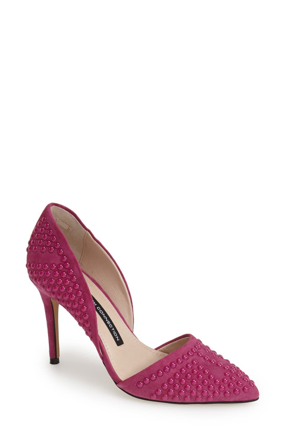 Alternate Image 1 Selected - French Connection 'Ellis' Studded Pointy Toe Pump (Women)