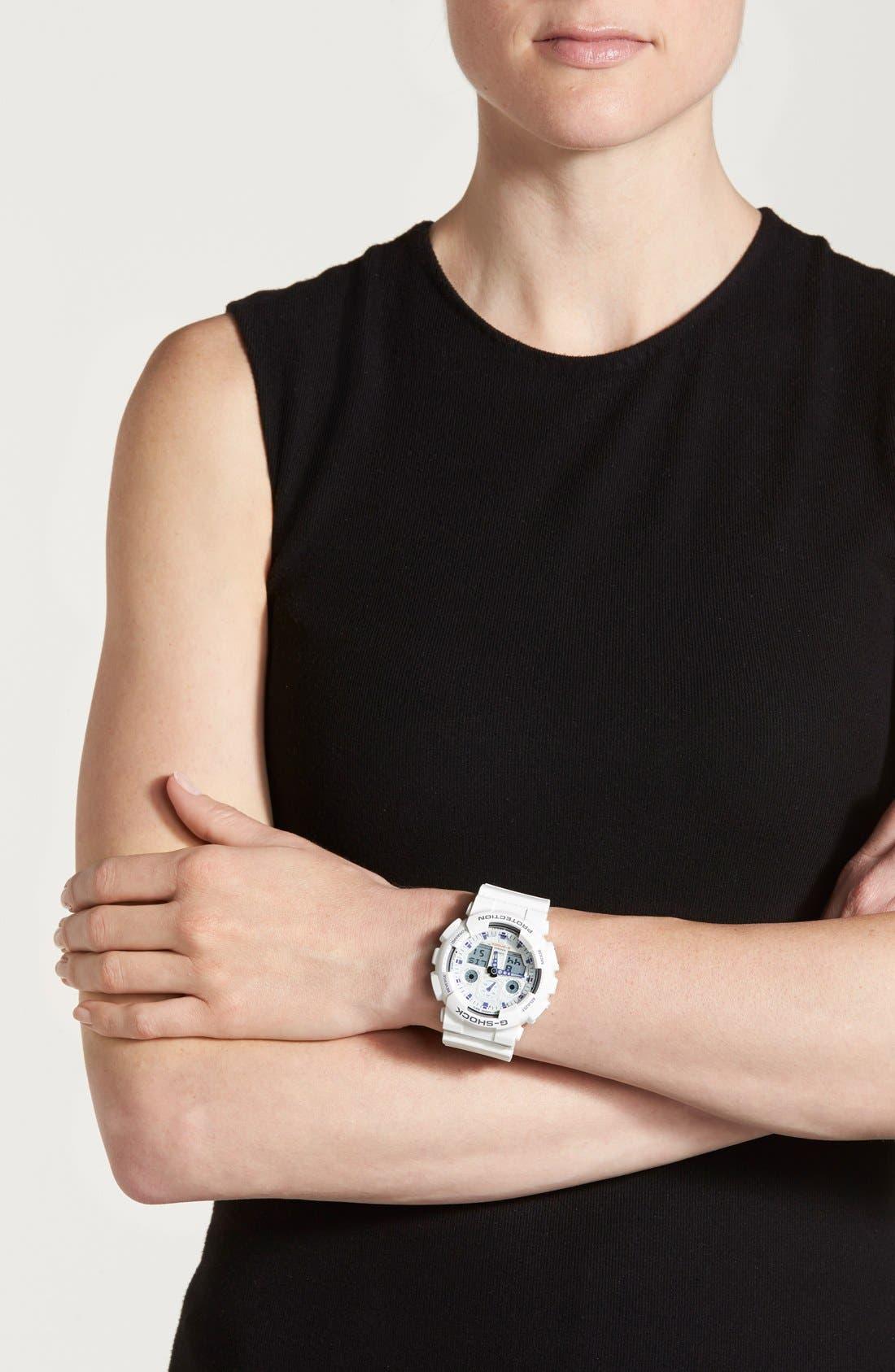 Alternate Image 2  - G-Shock 'Big Combi' Watch, 55mm x 51mm
