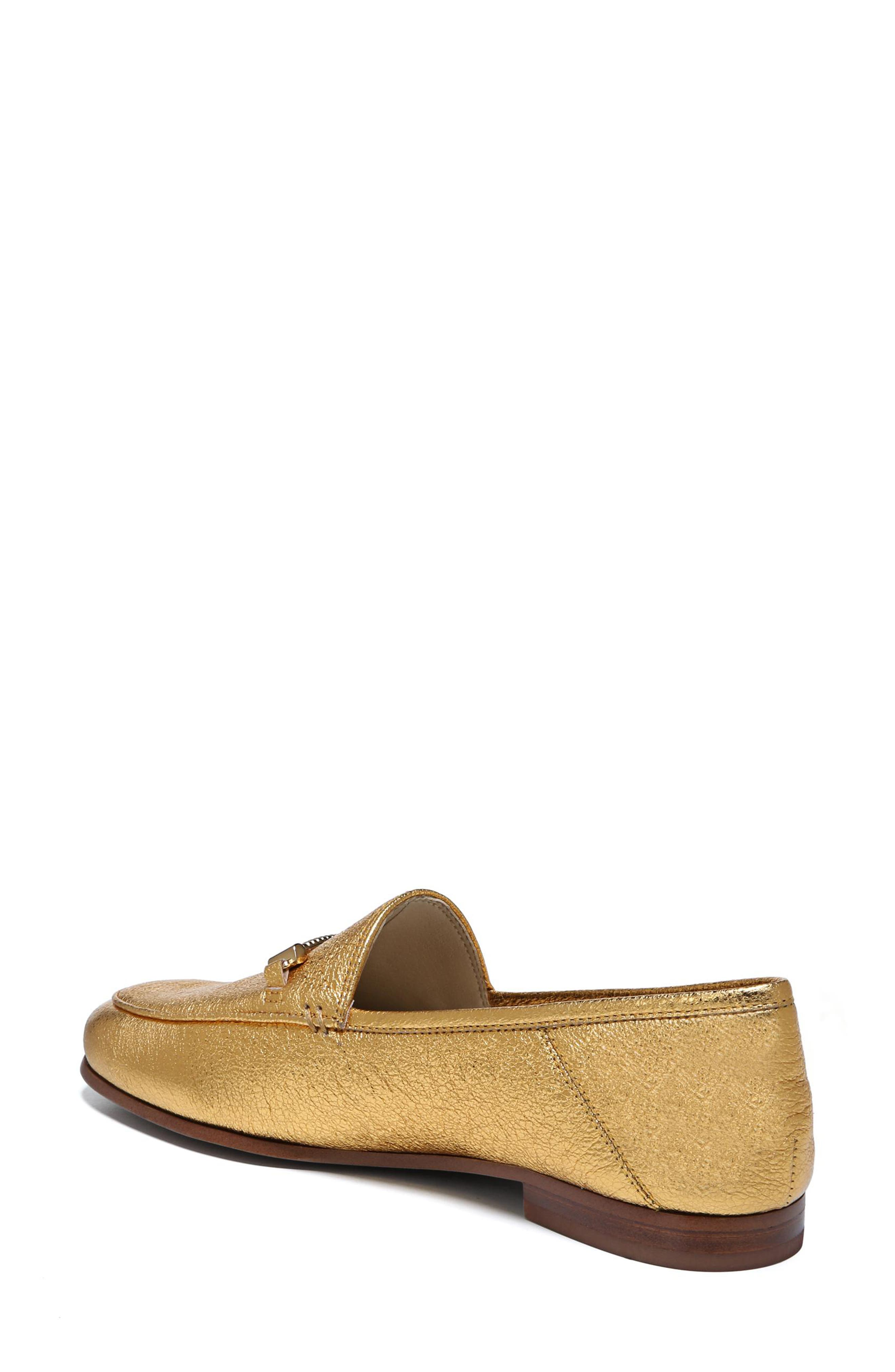 Lior Loafer,                             Alternate thumbnail 2, color,                             Exotic Gold Leather
