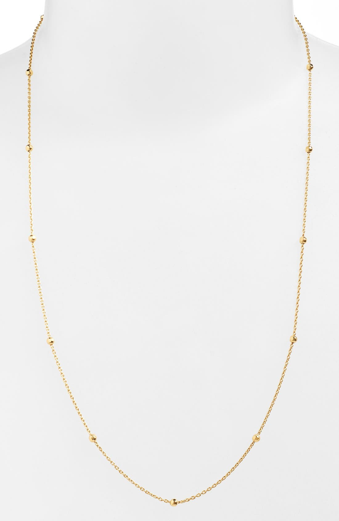 ARGENTO VIVO G Station Necklace, 34 in Gold