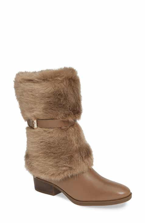 06f2c37981d Taryn Rose Giselle Water Resistant Faux Fur Boot (Women)