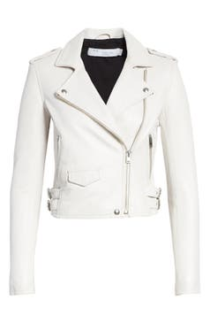 Women S White Leather Faux Leather Coats Jackets Nordstrom