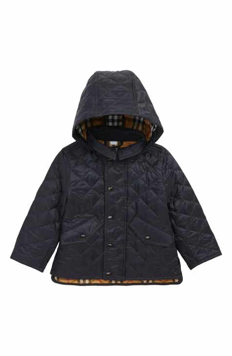 ec6250777541 Burberry Ilana Quilted Water Repellent Jacket (Baby Boys) (Regular Retail  Price   260)