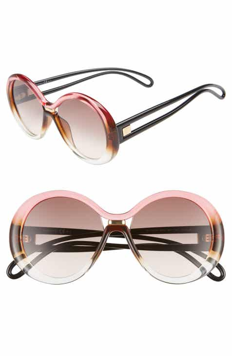 d9142a2d3c7c Givenchy 56mm Round Sunglasses