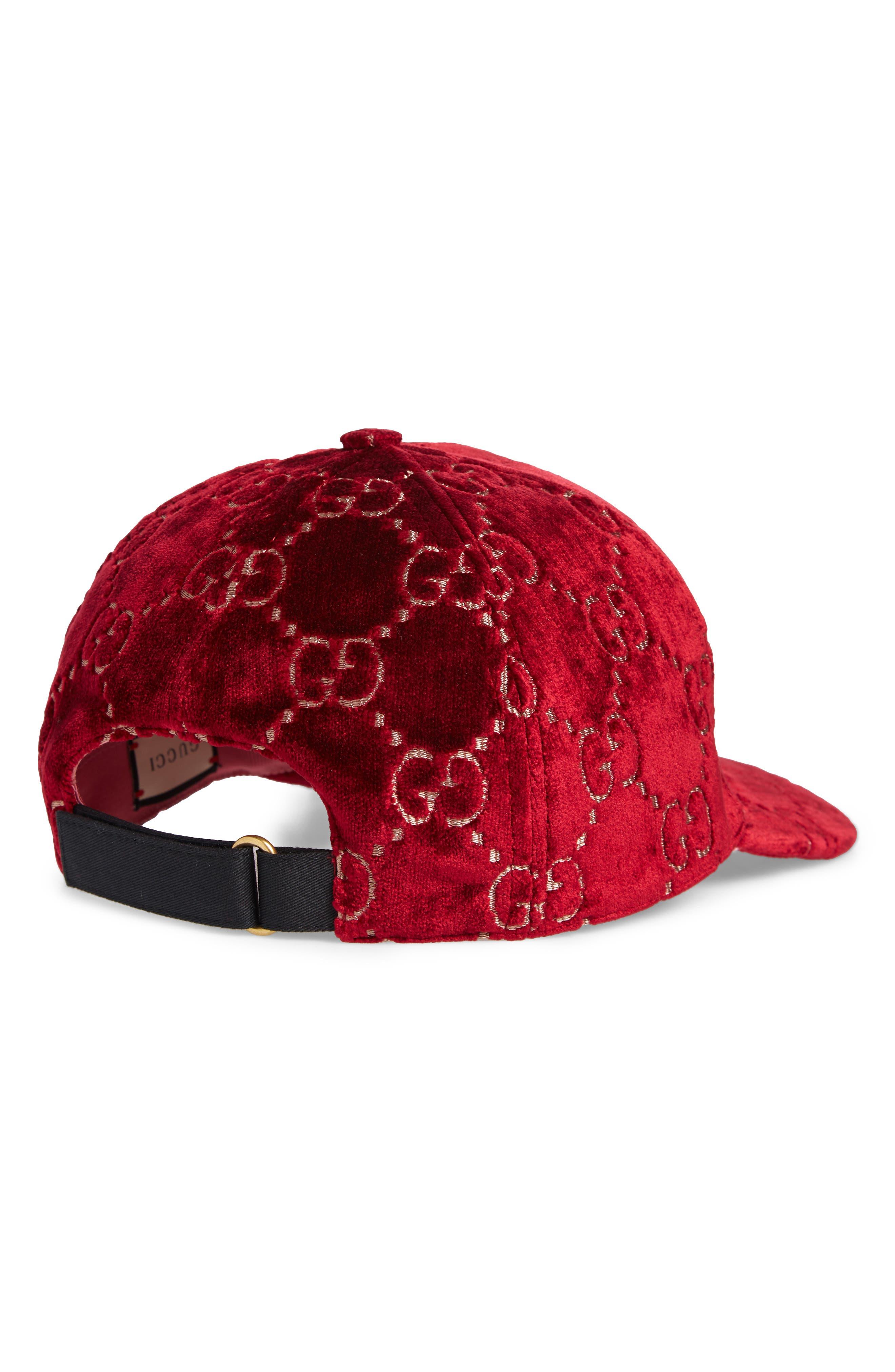 b2d0238c6b5f4 Red Baseball Caps
